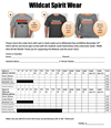 The Junior Class is selling Spirit Wear! Order forms and money will be due by Fri., Nov. 16th!!