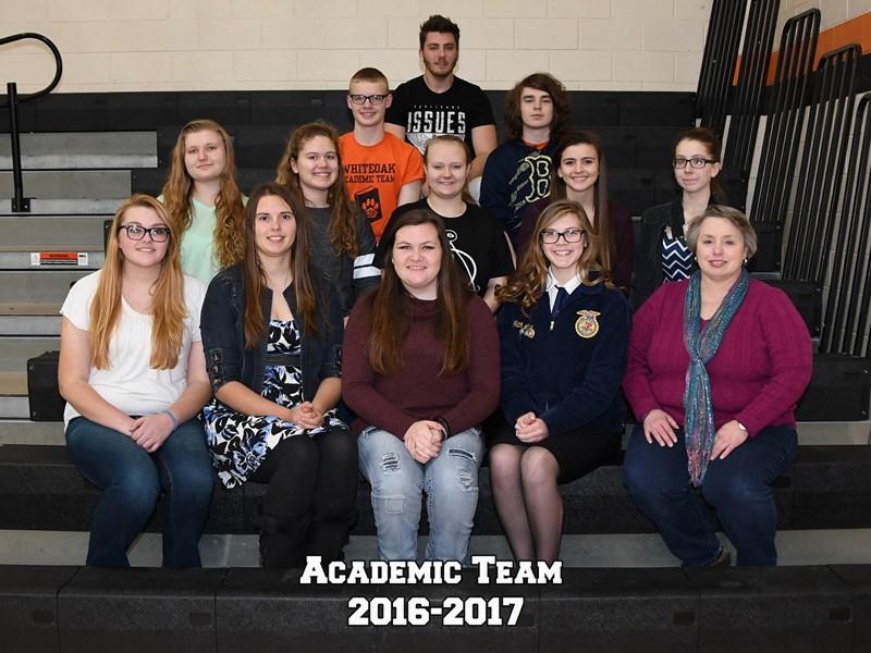 Academic Team 2016-17