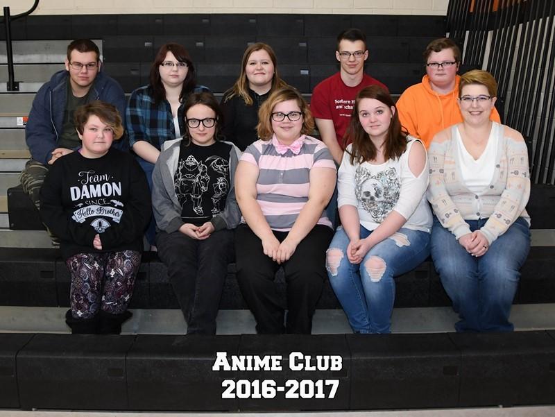 Anime Club 2016-17