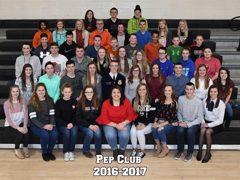 Pep Club 2016-2017
