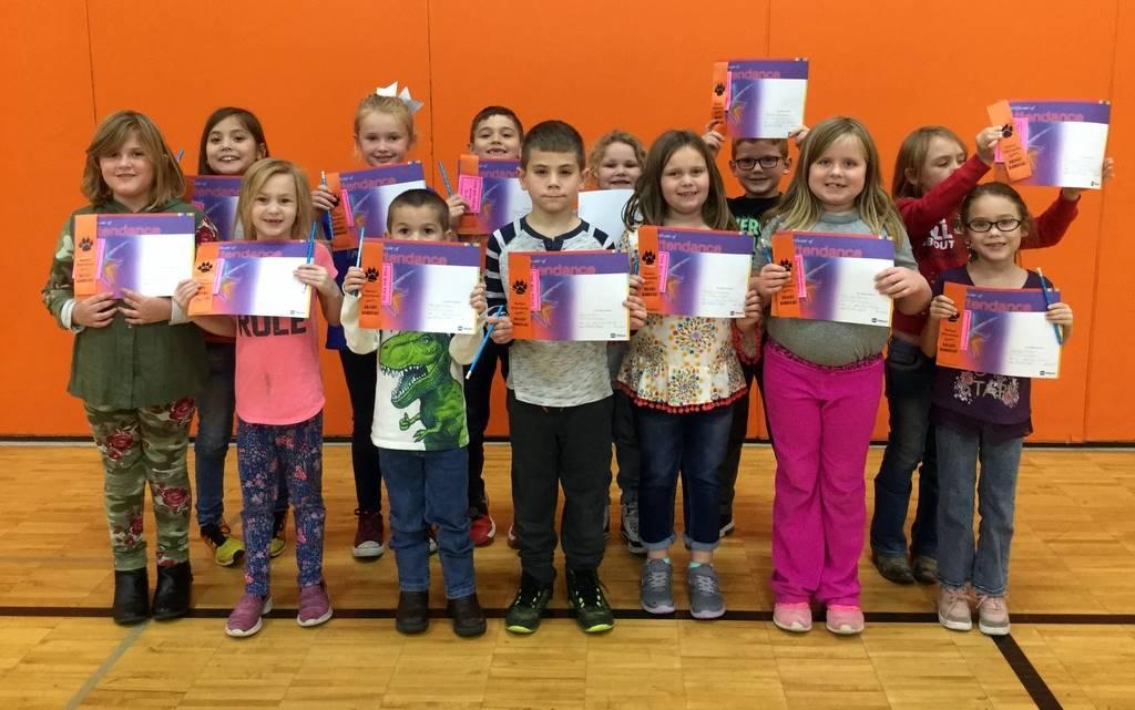 1st Grade - Perfect Attendance
