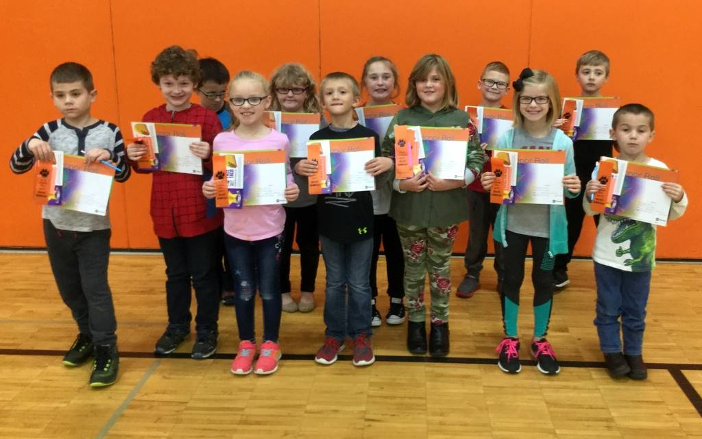 1st Grade - A & B Honor Roll