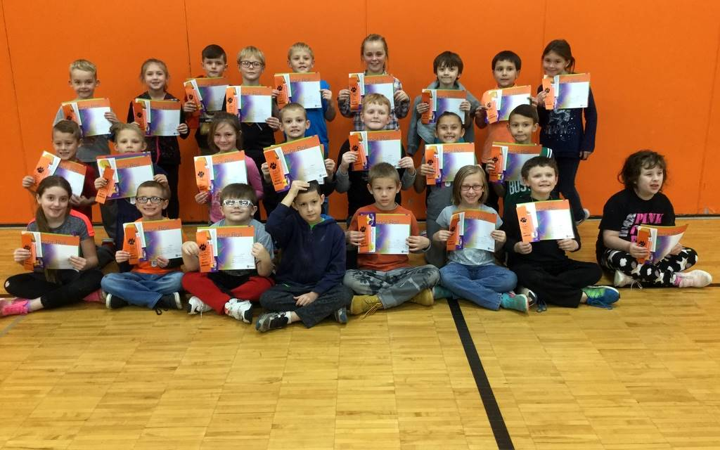 2nd Grade - A & B Honor Roll