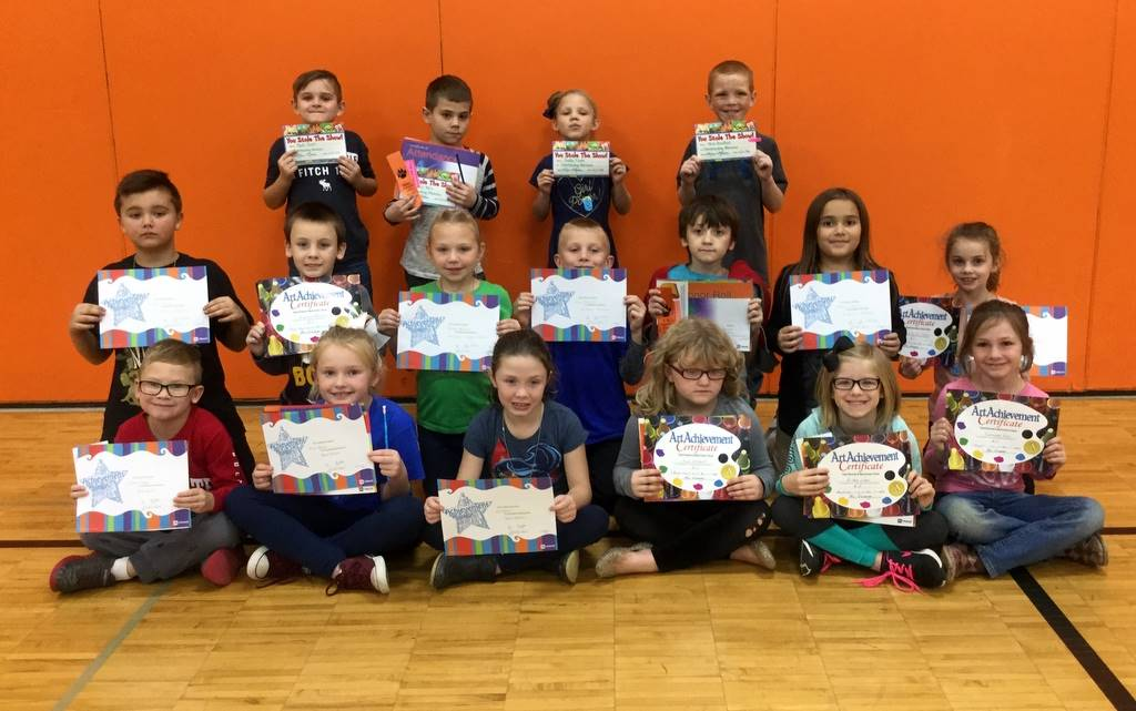 2nd Grade - Achievement Award