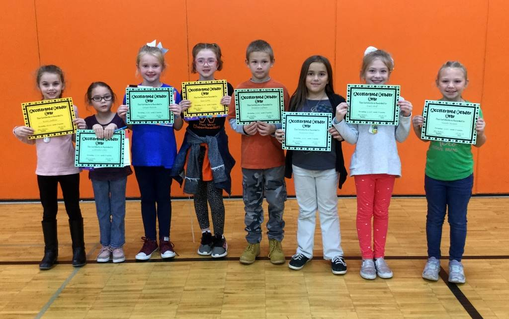 2nd Grade - Accelerated Reader Star Award