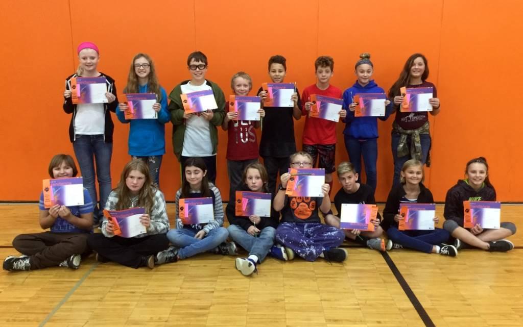 6th Grade - Perfect Attendance