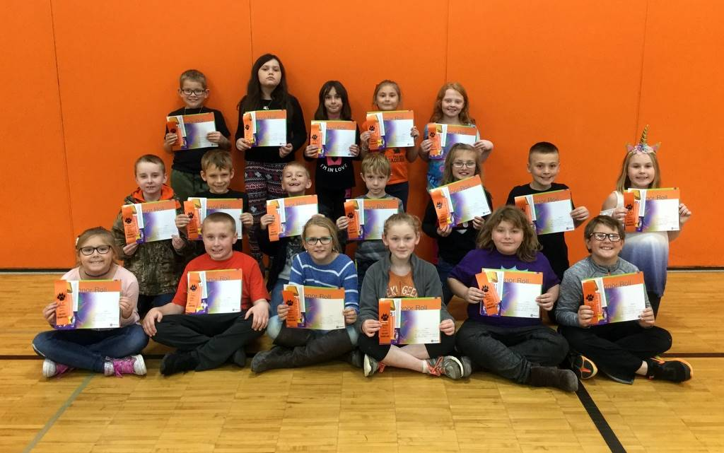 3rd Grade - A & B Honor Roll