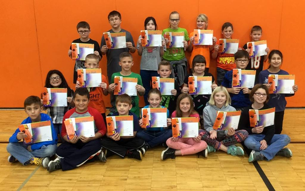 4th Grade - A & B Honor Roll