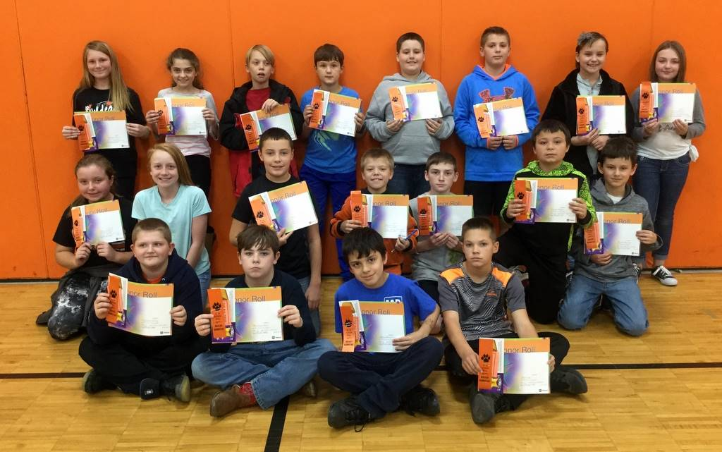 5th Grade - A & B Honor Roll