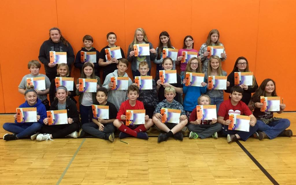 6th Grade - A & B Honor Roll