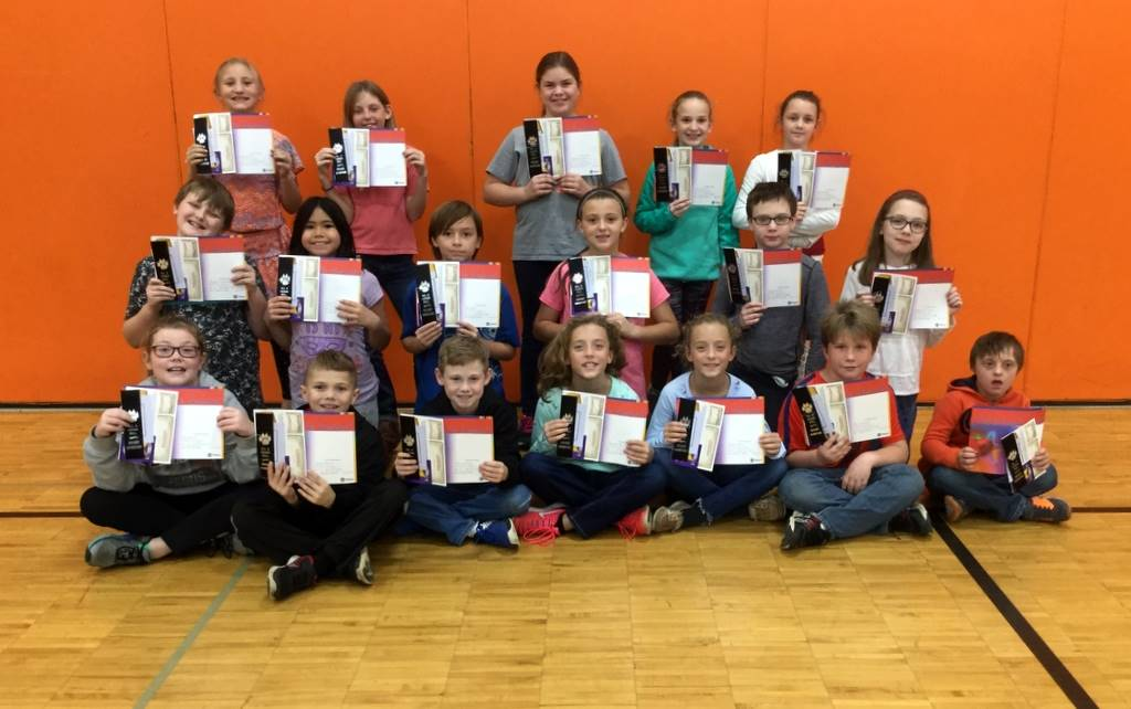 4th Grade - All A Honor Roll