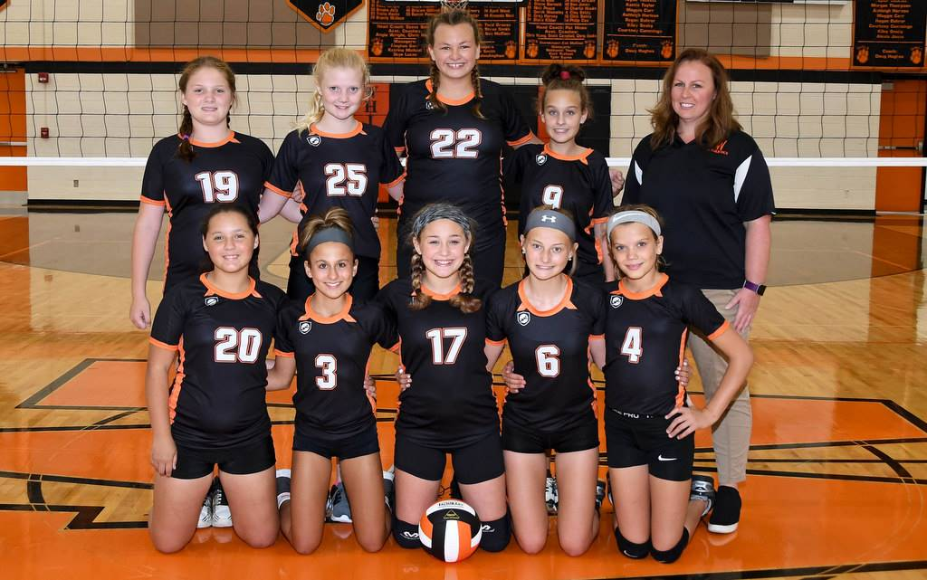 Whiteoak 7th Grade Volleyball 2019-2020