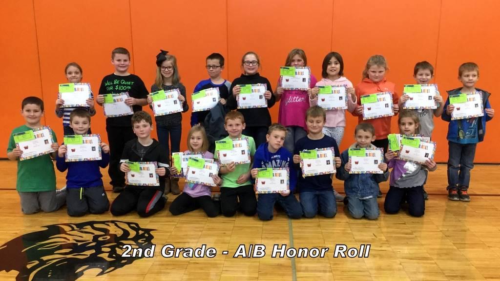 2ndGrade - A/B Honor Roll