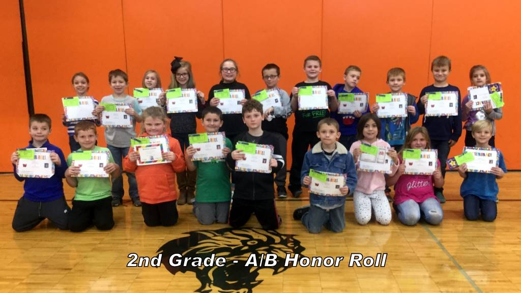 2nd Grade - A/B Honor Roll