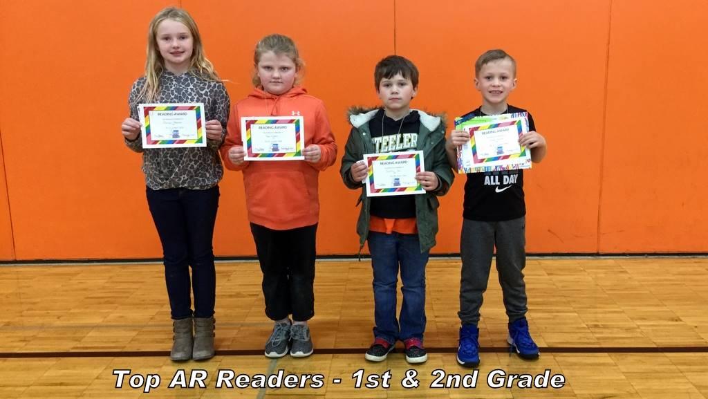 Top AR Readers - 1st & 2nd Grade