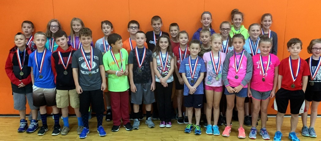 Bright Elementary Kids shine at Highland County Cross Country Invitational.