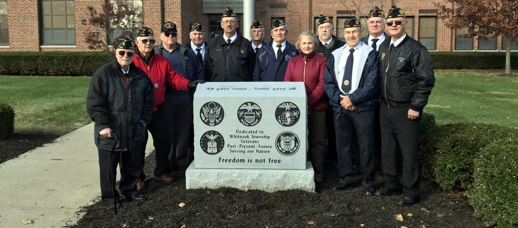 VFW Members that were present for the Dedication & Assembly