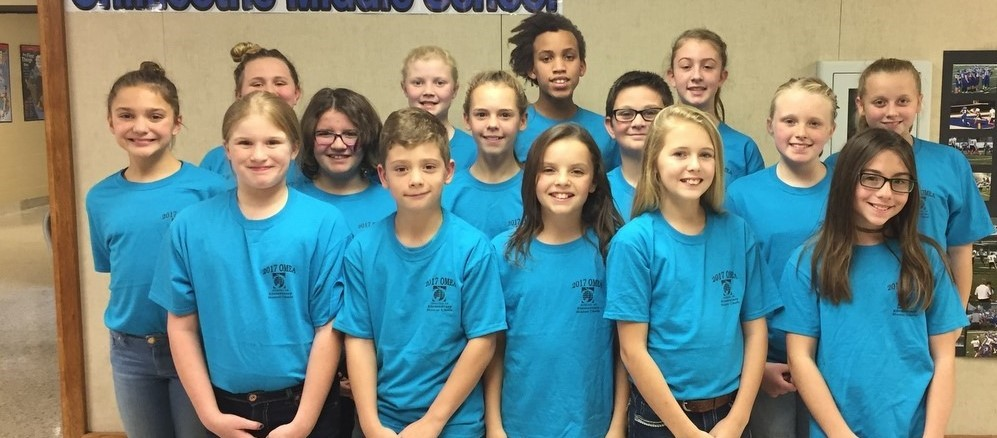 The Bright Elementary Honor Choir 2017-2018