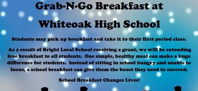 Grad N Go Breakfast