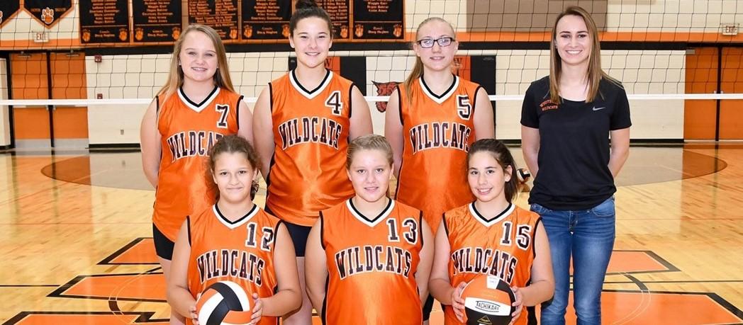 Whiteoak 7th Grade Volleyball 2017-2018