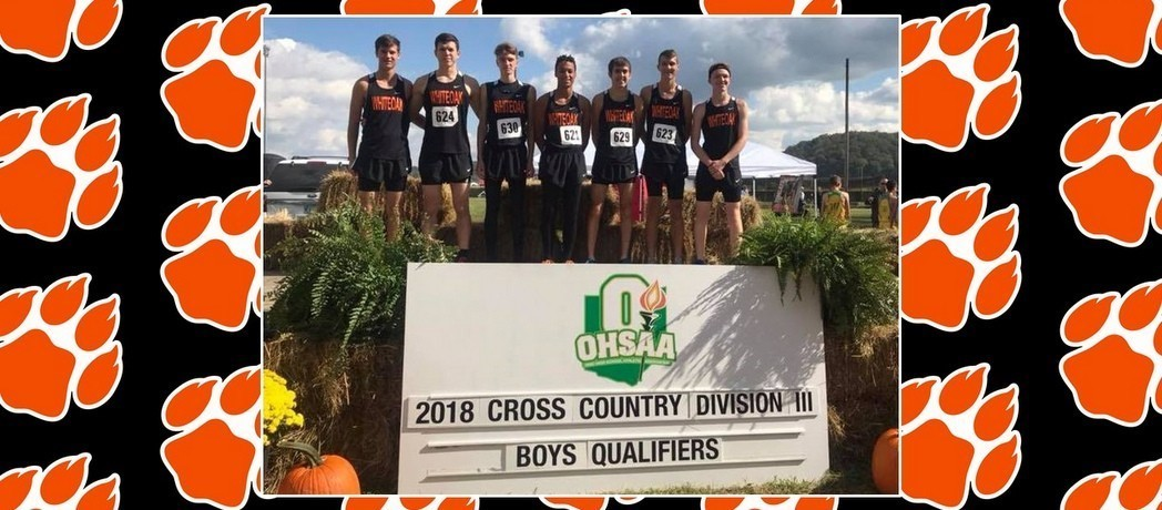 Whiteoak Cross Country Team advances to the Division III Regional!!!