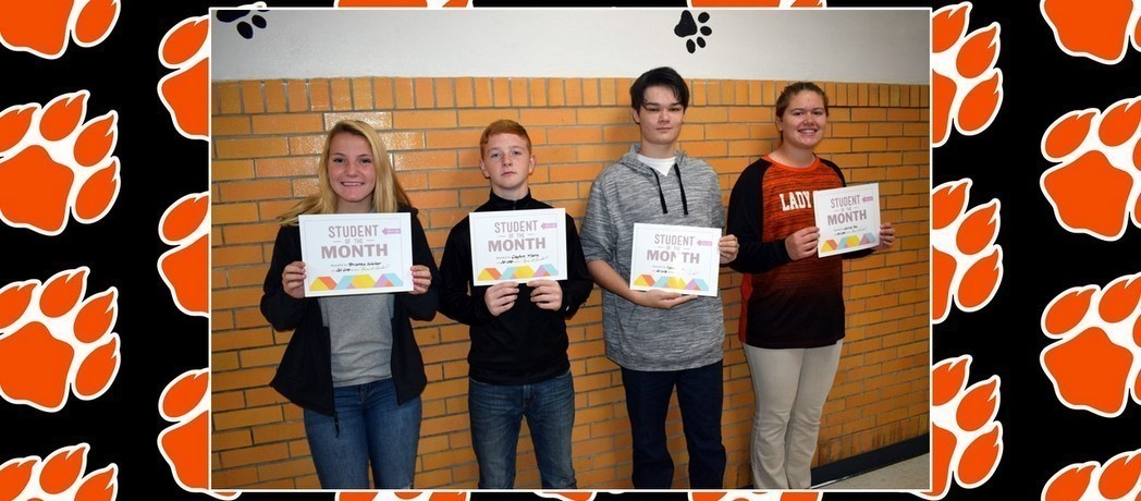 CONGRATULATIONS to the Whiteoak Students of the Month for October 2018