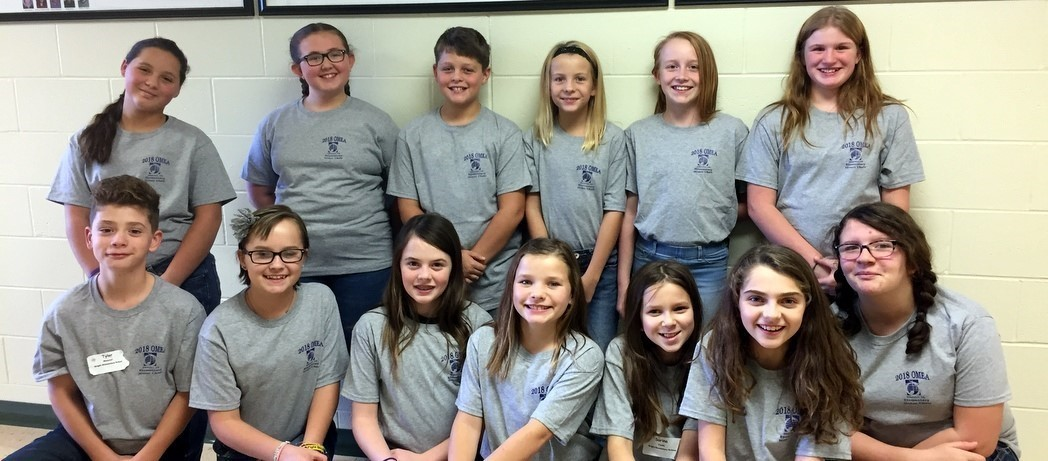 The Bright Elementary Honor Choir was in Concert this past Saturday at Western Brown High School.