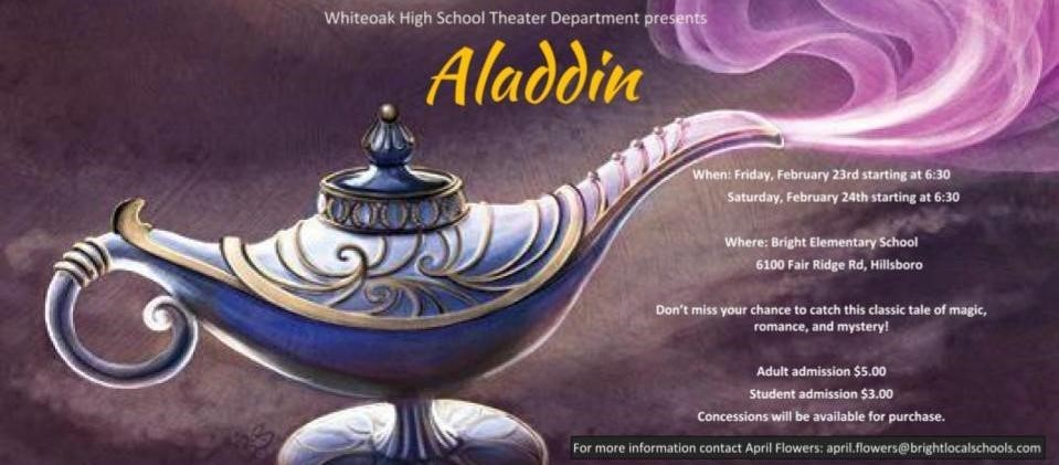 Whiteoak's Aladdin