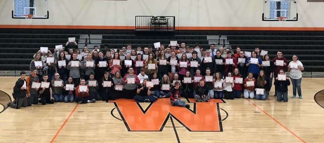 Whiteoak Jr./Sr. High School Students - A & B Honor Roll - 2nd Nine Weeks - 2017-18