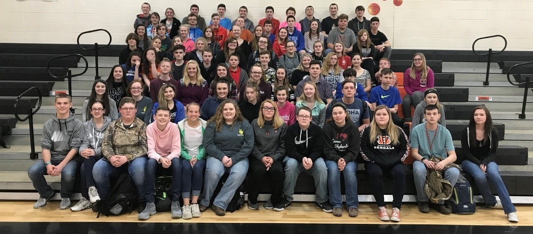 Whiteoak Jr./Sr. High School Students - A & B Honor Roll - 3rd Nine Weeks - 2017-18