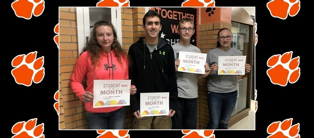 CONGRATULATIONS to the Whiteoak Students of the Month for September 2018