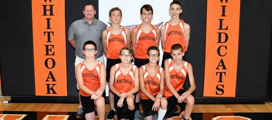 Whiteoak Jr. High Boys Cross Country 2018-19