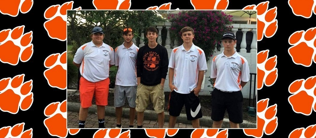 Whiteoak Golf Team qualifies to the Districts