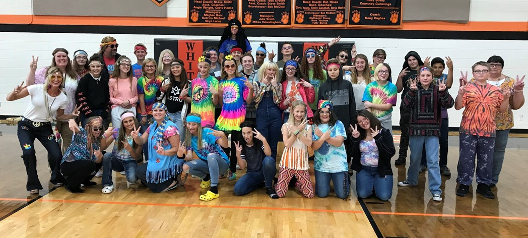 Hippie Day! Promoting Peace, Love & Kindness!
