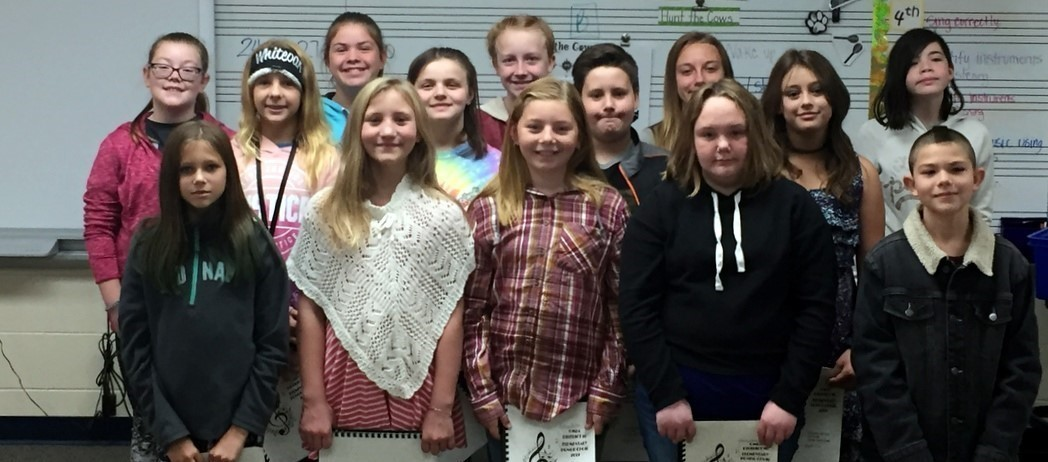 Bright Elementary Honor Choir