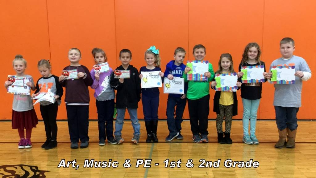 Art, Music & PE - 1st & 2nd Grade