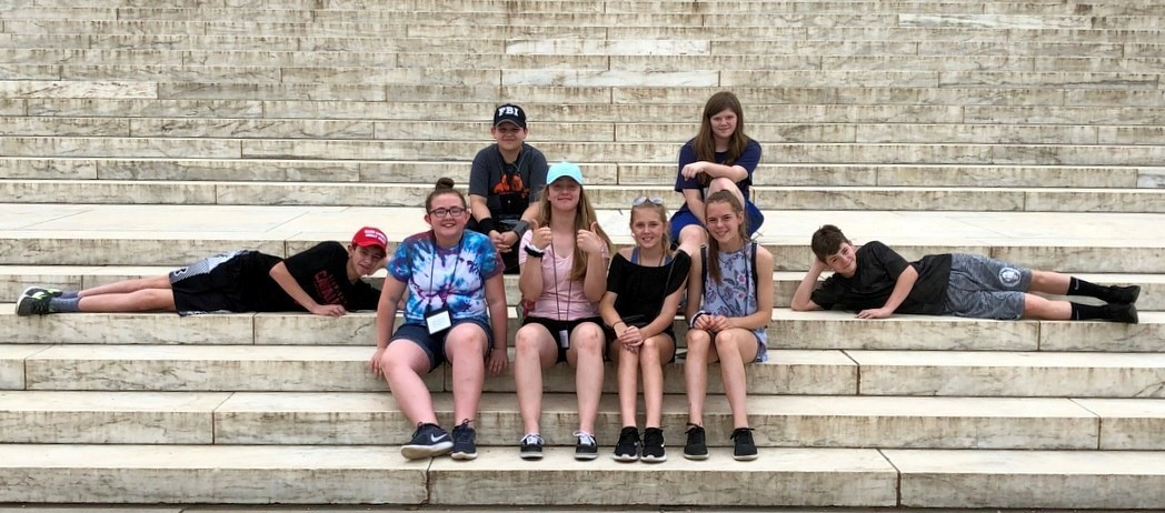 Bright Local TAG Students on the Washington DC field trip this past weekend.