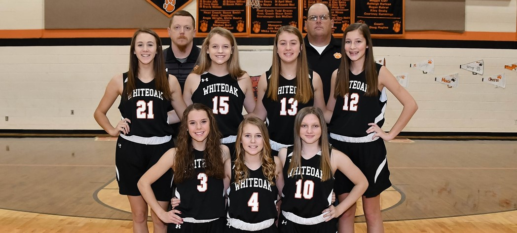 Whiteoak 8th Grade Girls Basketball
