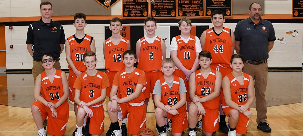 Whiteoak 7th Grade Boys Basketball