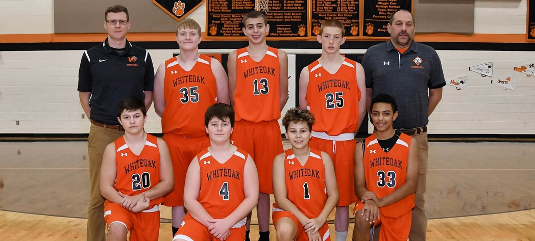 Whiteoak 8th Grade Boys Basketball