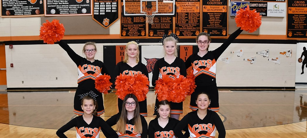 Whiteoak Jr. High Cheerleading