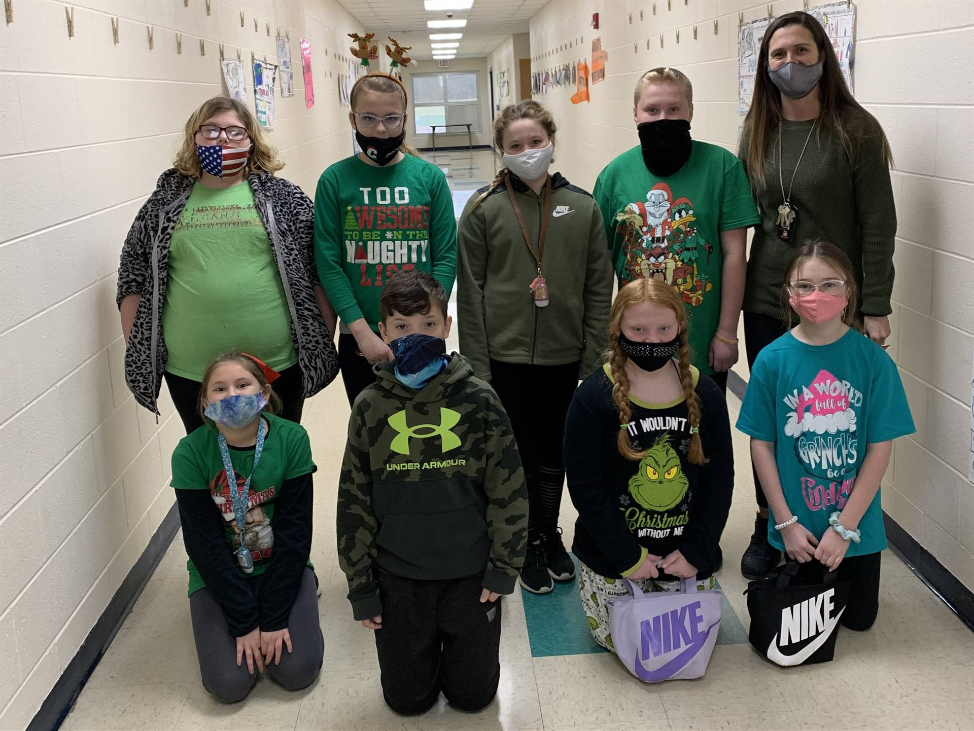 5th Grade - GRINCH Day