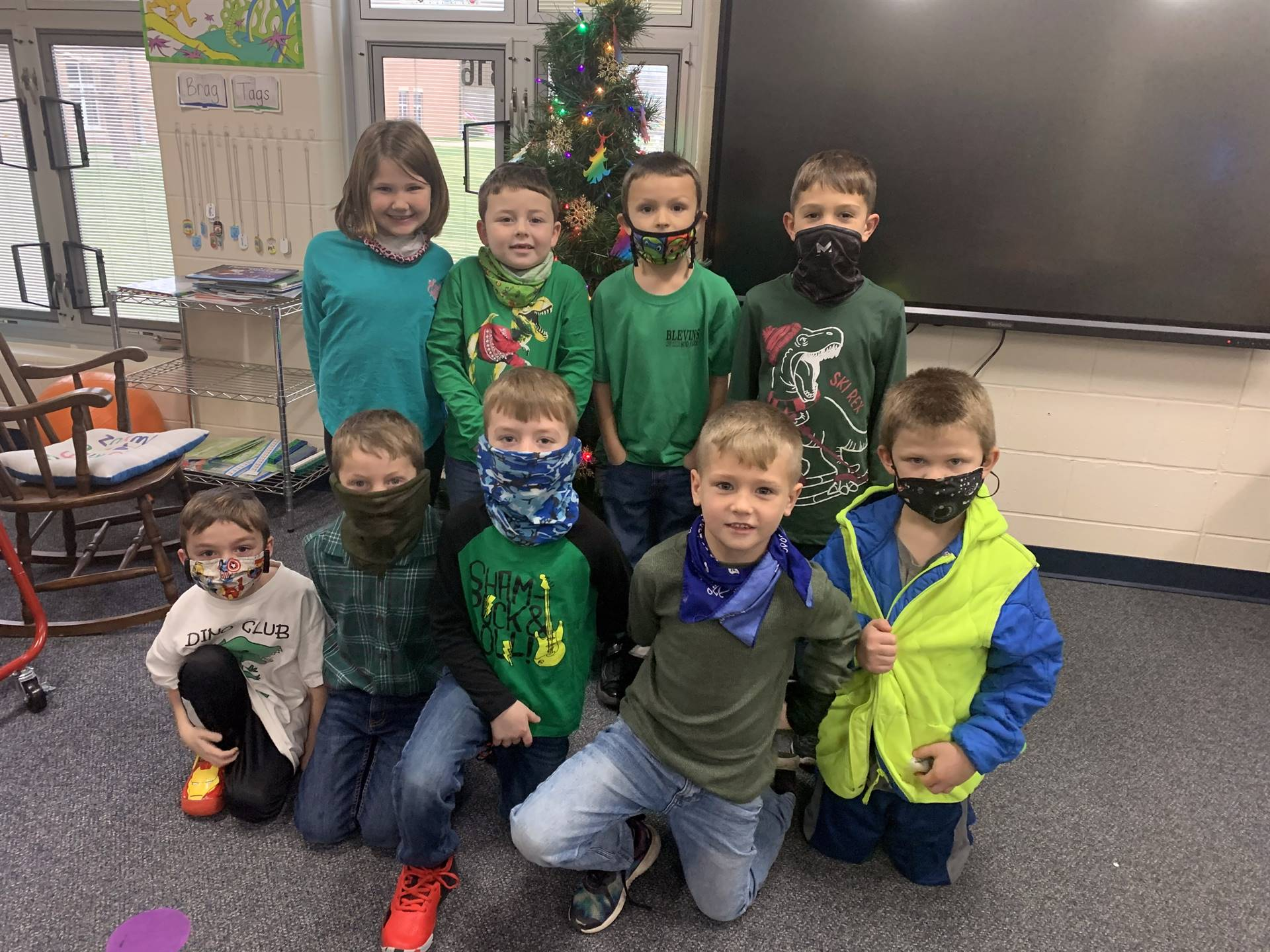 1st Grade - GRINCH Day
