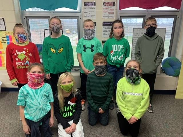 4th Grade - GRINCH Day