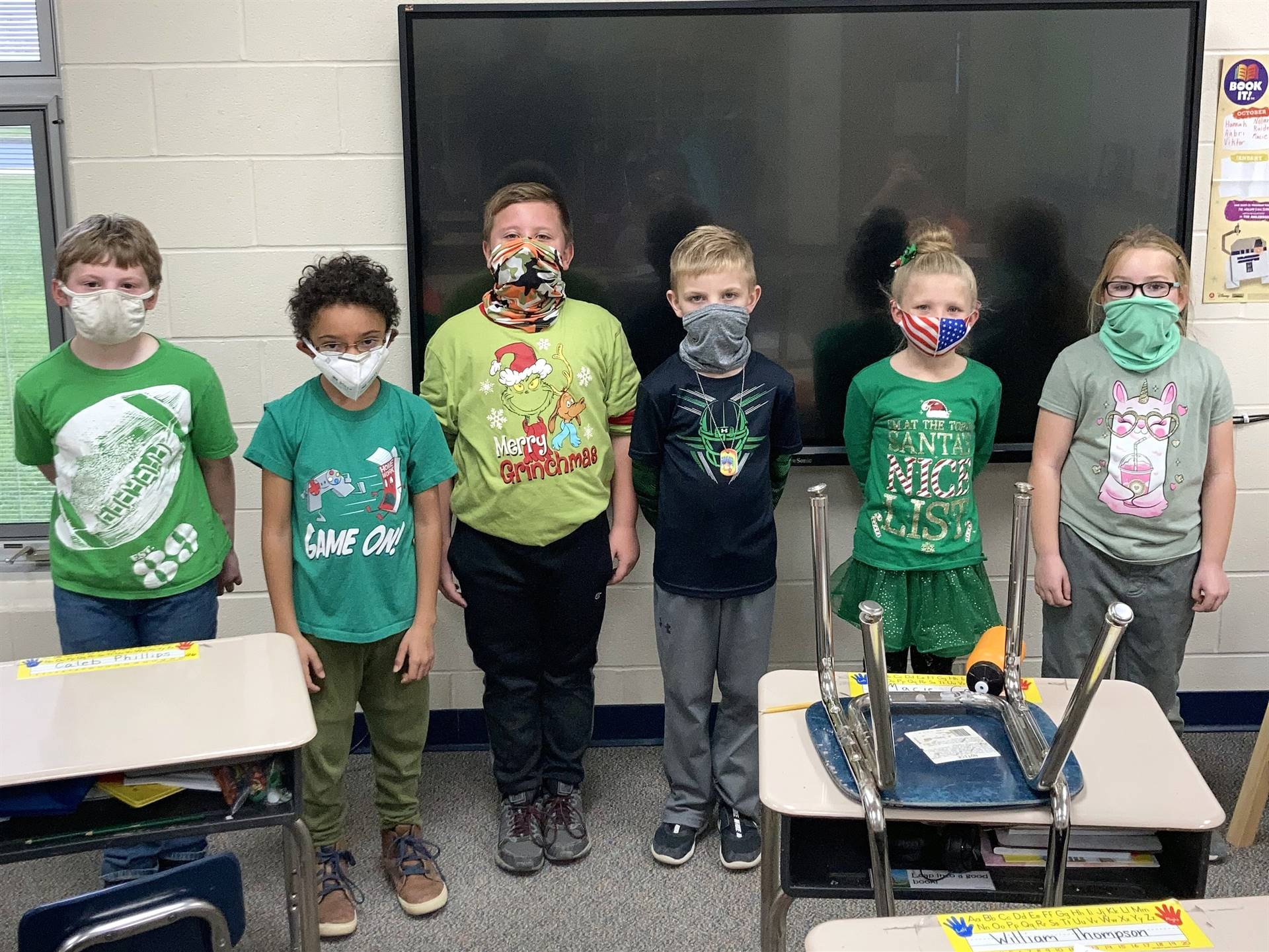2nd Grade - GRINCH Day
