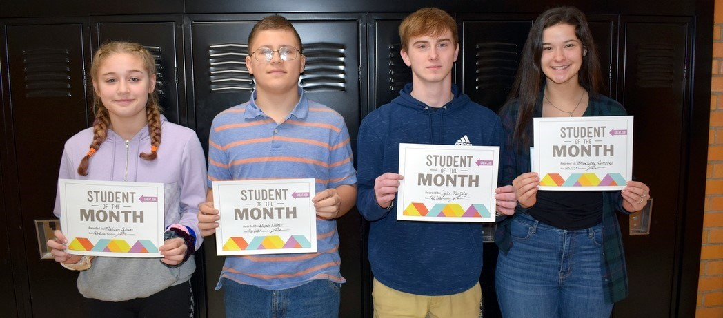 Whiteoak Students of the Month - February 2020