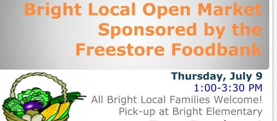 Bright Local Open Market - July 9, 2020