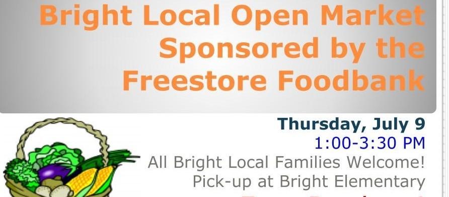 Bright Local Open Market - July 9, 2020