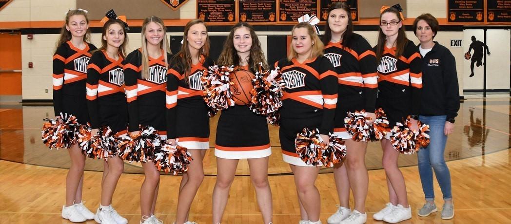 Whiteoak High School Cheerleaders 2020-2021