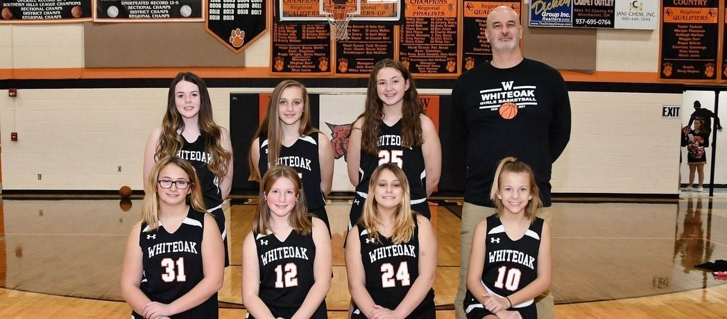 Whiteoak 7th Grade Girls Basketball 2020-2021